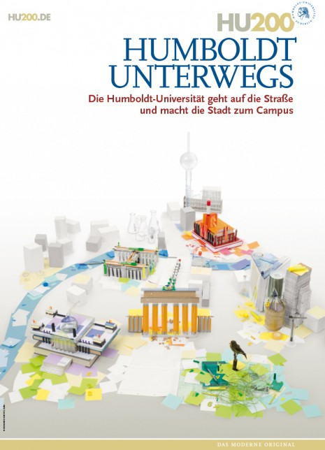 Plakat Humboldt Universität Unterwegs