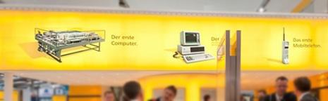 Deutsche Post auf der Cebit 2011