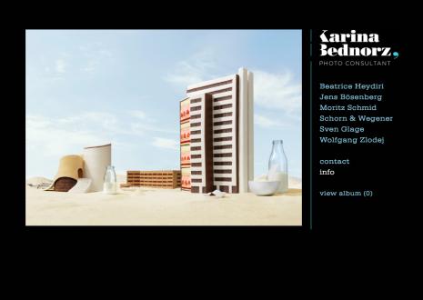 Webseite Karina Bednorz