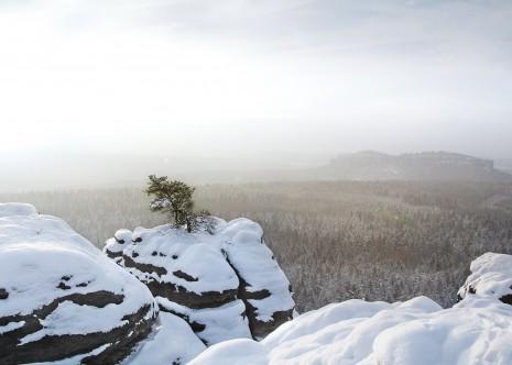 Elbsandsteingebirge Winter 2014/15